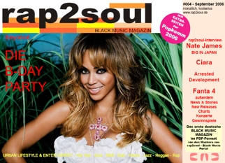 rap2soul - Black Music Magazin #004 - September 2006