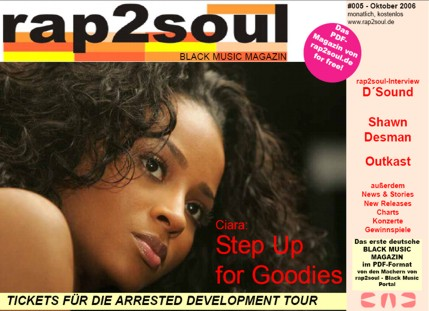 rap2soul - Black Music Magazin #005 - Oktober 2006