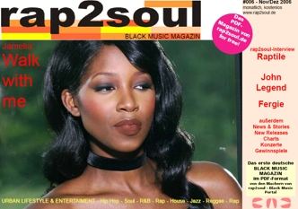 rap2soul - Black Music Magazin #006 - November 2006
