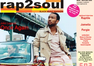 rap2soul - Black Music Magazin #006 - Dezember 2006