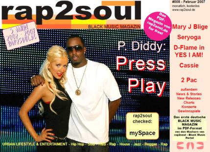 rap2soul - Black Music Magazin #008 - Februar 2007