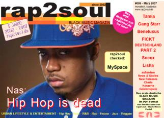 rap2soul - Black Music Magazin #009 - März 2007