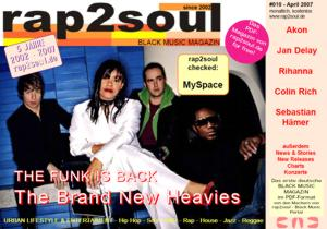rap2soul - Black Music Magazin #010 - April 2007