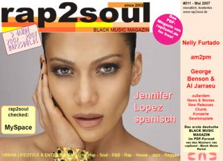 rap2soul - Black Music Magazin #011 - Mai 2007