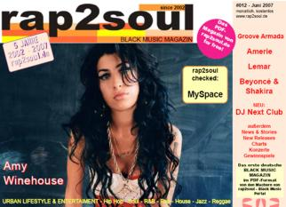 rap2soul - Black Music Magazin #012 - Juni 2007