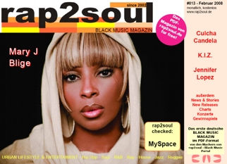 rap2soul - Black Music Magazin #013 - Februar 2008
