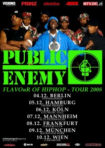 Public Enemy Tour 2008 (powered by rap2soul)