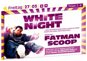 White Night mit Fatman Scoop im Index 27. März 2009