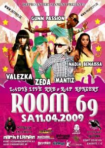 ROOM69 - 11.04.09 - Frankfurt/M
