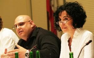 Sami Ben Mansour mit Emine Demirbüken-Wegner (Foto: Mellowvibes Media)