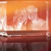 Looxis 3D Laser Foto im Glas (Foto: Looxis)