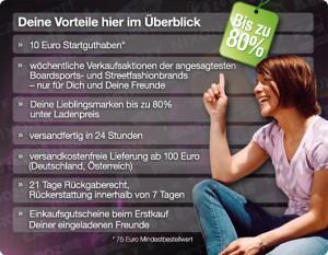 Die Vorteile von clubsale.de