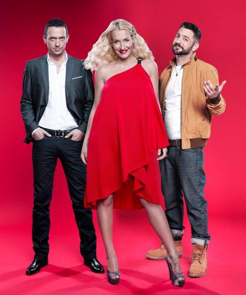 """""""X Factor""""-Jury: Till Brönner, Sarah Connor, DAS BO"""