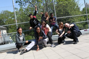 Dance-Flashmob mit Kool Savas (Quelle: O2)