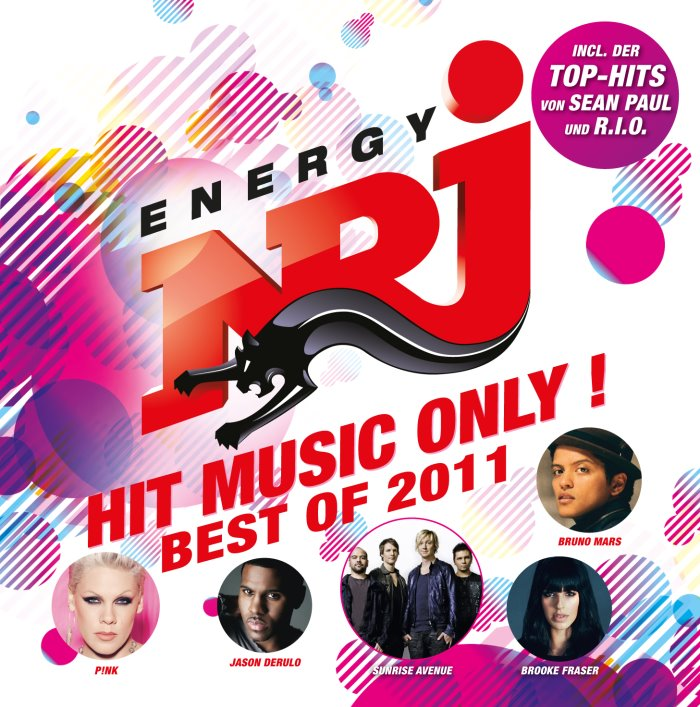 Cover - Album - ENERGY - HIT MUSIC ONLY ! - BEST OF 2011