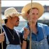 Lionel Richie angelt mit Jan Hahn (Foto: SAT.1/Ingo Gauss)