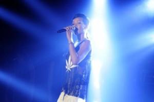 Rihanna in Berlin (Foto: Julia Schoierer / Universal Music)