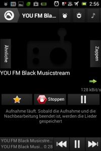 Screenshot: Radio-App im Test: Audials - Radio + Musik Sync - Livestream