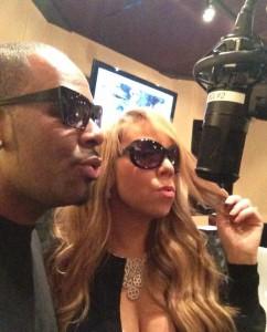Mariah Carey nahm für ihr neues Projekt auch ein Duett mit R. Kelly auf.