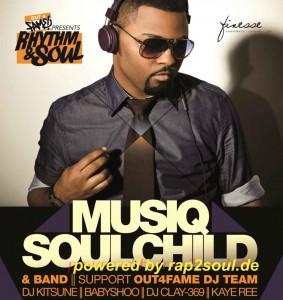 Musiq Soulchild Konzert (Foto: Out4Fame)