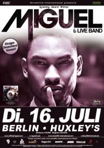 Miguel live in Berlin