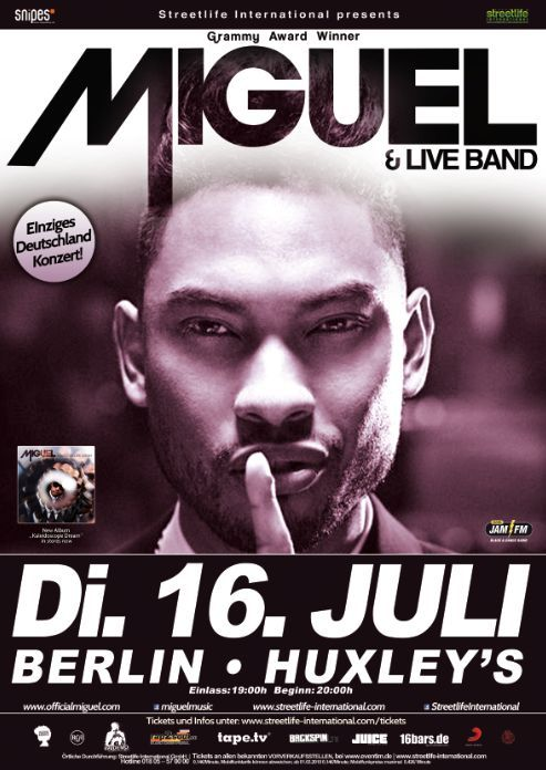 Miguel live in Berlin
