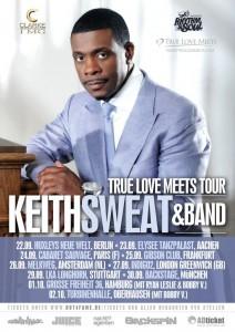 Keith Sweat Tour 2013