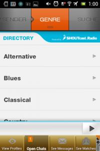 Screenshot: XiiaLive - Genre