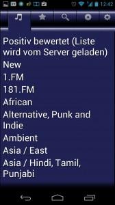 Screenshot: VirtualRadio - Sender