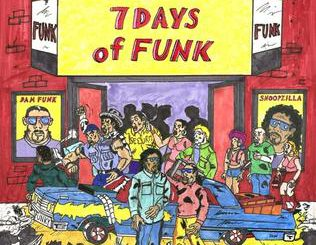 7 Days Of Funk (Snoopzilla & Dam-Funk) – 7 Days Of Funk (Cover)