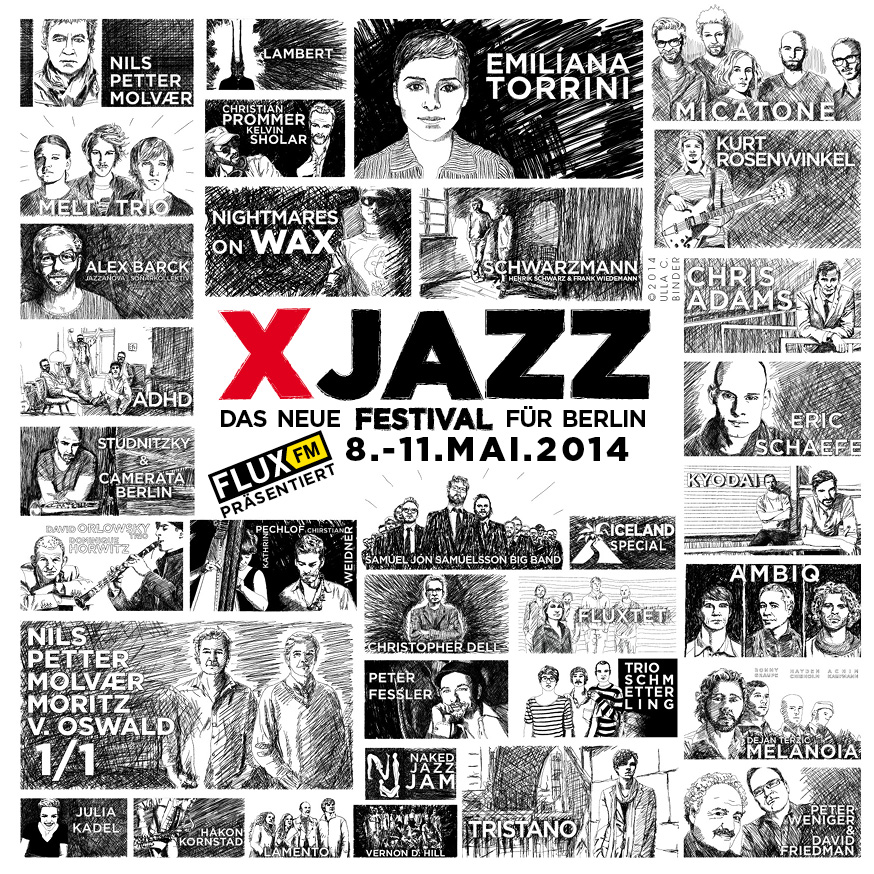 XJAZZ-Flyer | Bild: XJazz UG
