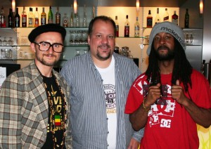 DJ Vadim, Jörg Wachsmuth, Govenor Tiggy (Foto: rap2soul)