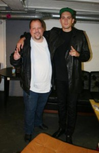 G-Eazy mit Jörg Wachsmuth (Foto: rap2soul)
