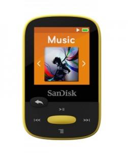 SanDisk Clip Sport Gelb