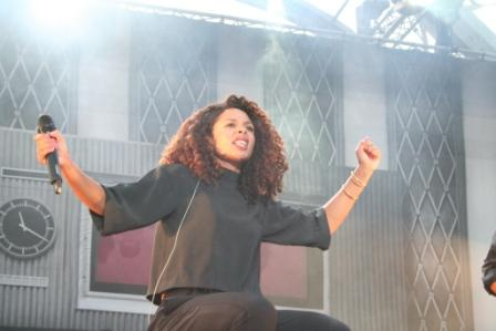 Joy Denalane live IFA 2014 (Foto: rap2soul)