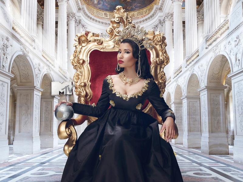 Nicki Minaj wird als Moderatorin durch die Show führen | Bild: MTVEMA Press Hub