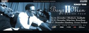 rap2soul präsentiert Boyz II Men Tour 2014