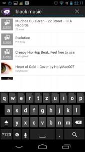 Screenshot: AirFree Music Player   Bild: Redaktion