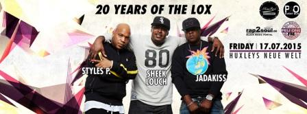 THE LOX am 17.07.15 in Berlin