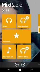 MixRadio im Test | Screenschot: Redaktion