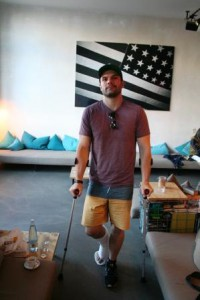 Seth Sentry: Fuß gebrochen (Foto: rap2soul)