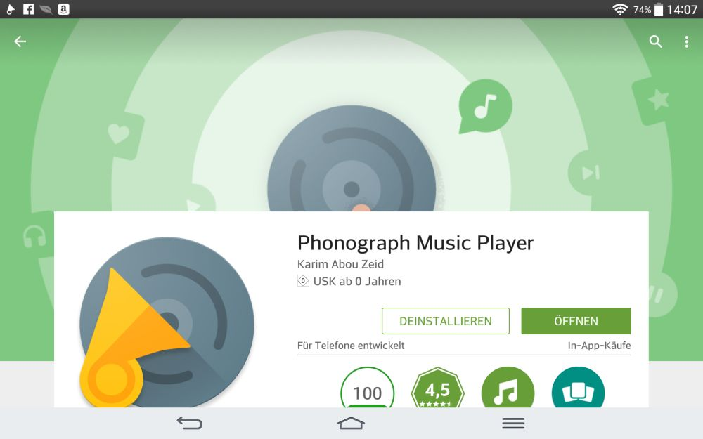 Phonograph Music Player | Screenshot: Redaktion