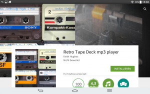 Retro Tape Deck | Screenshot: Redaktion