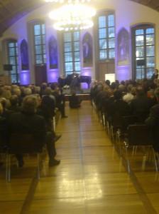 Al Jarreau is in the house: Musikpreisverleihung im Rathaus.