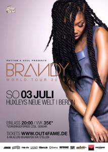 Brandy World Tour 2016 - Berlin