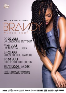 BRANDY Deutschland Plakat