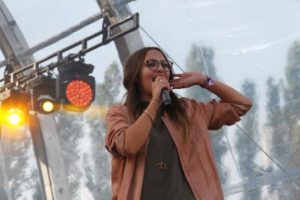 Namika live im Berliner Sommergarten bei den Deutschpoeten 03.09.2016 (#IFA2016) (Foto: Wachsmuth / rap2soul)