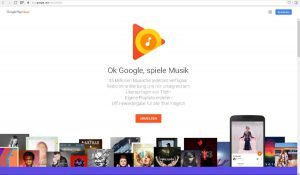 Google Play Music im Test | Screenshot: Redaktion
