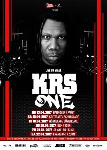 KRS-ONE (Plakat Out4Fame)