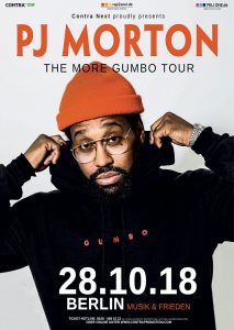 PJ Morton - The More Gumbo Tour